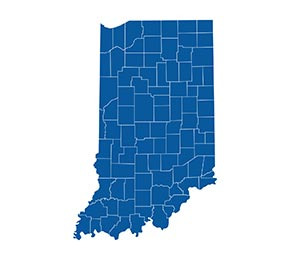 Climate Support Indiana Map